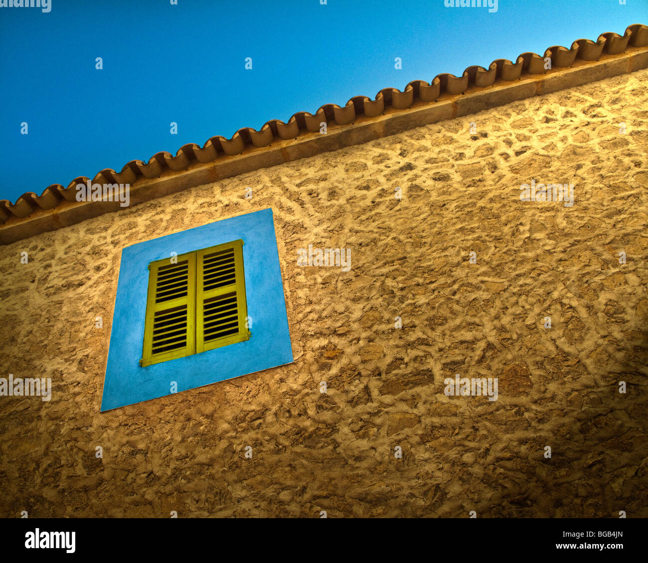 ES - MALLORCA: Typical architectural detail at Arta - Stock Image