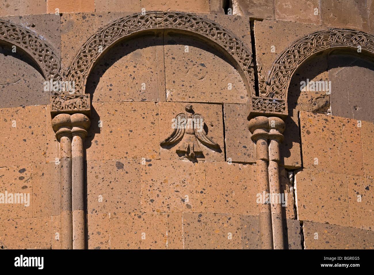 Ruins of the medieval Armenian city of Ani Kars Turkey Stock Photo
