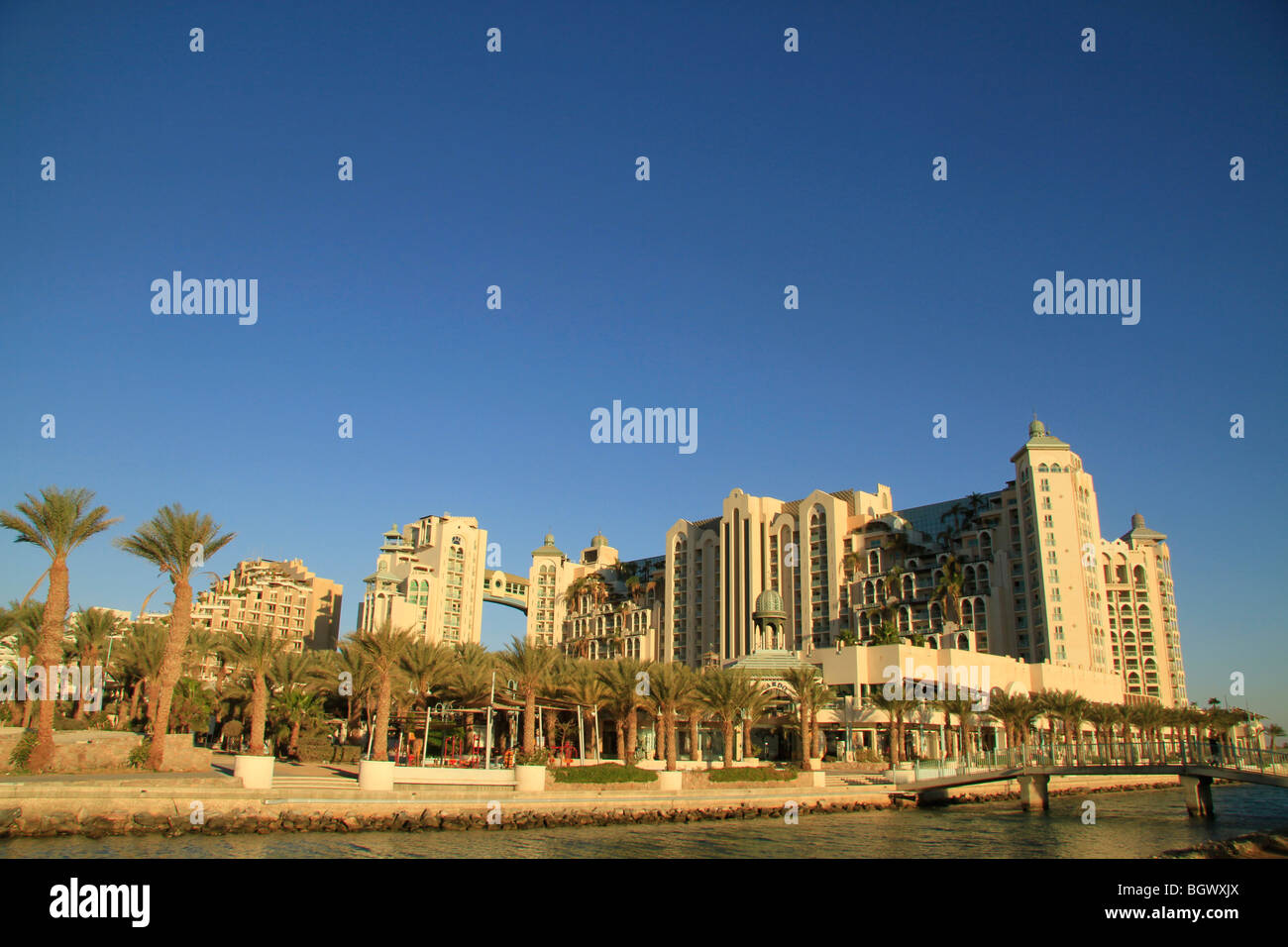 Israel, Eilat by the Red Sea - Stock Image