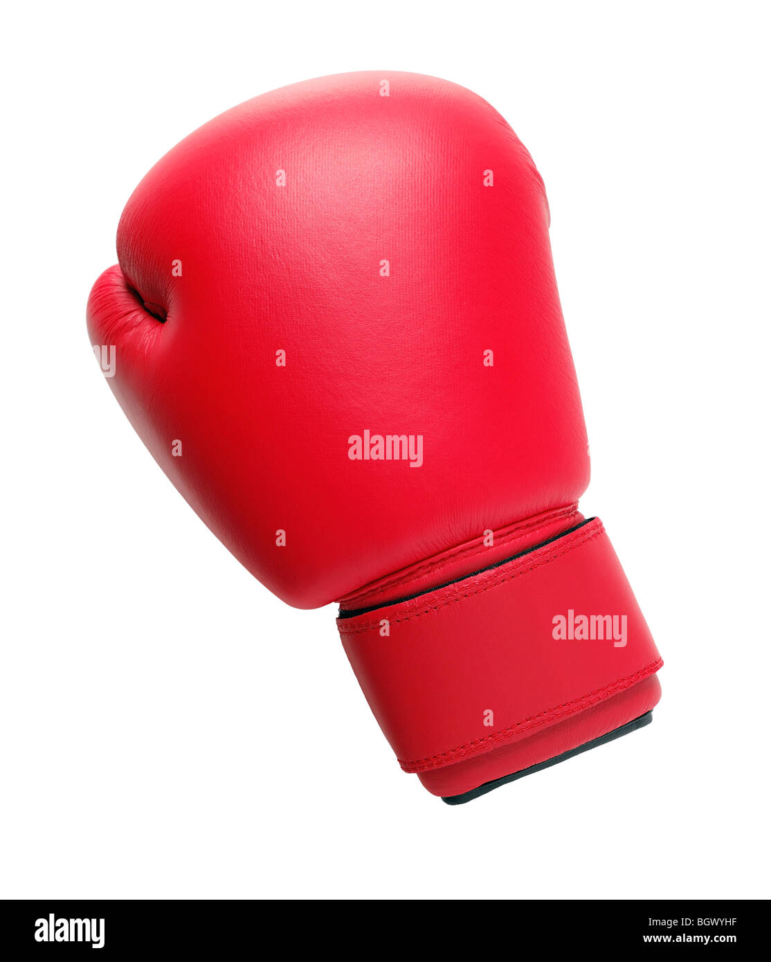 Boxing Glove Cut Out - Stock Image