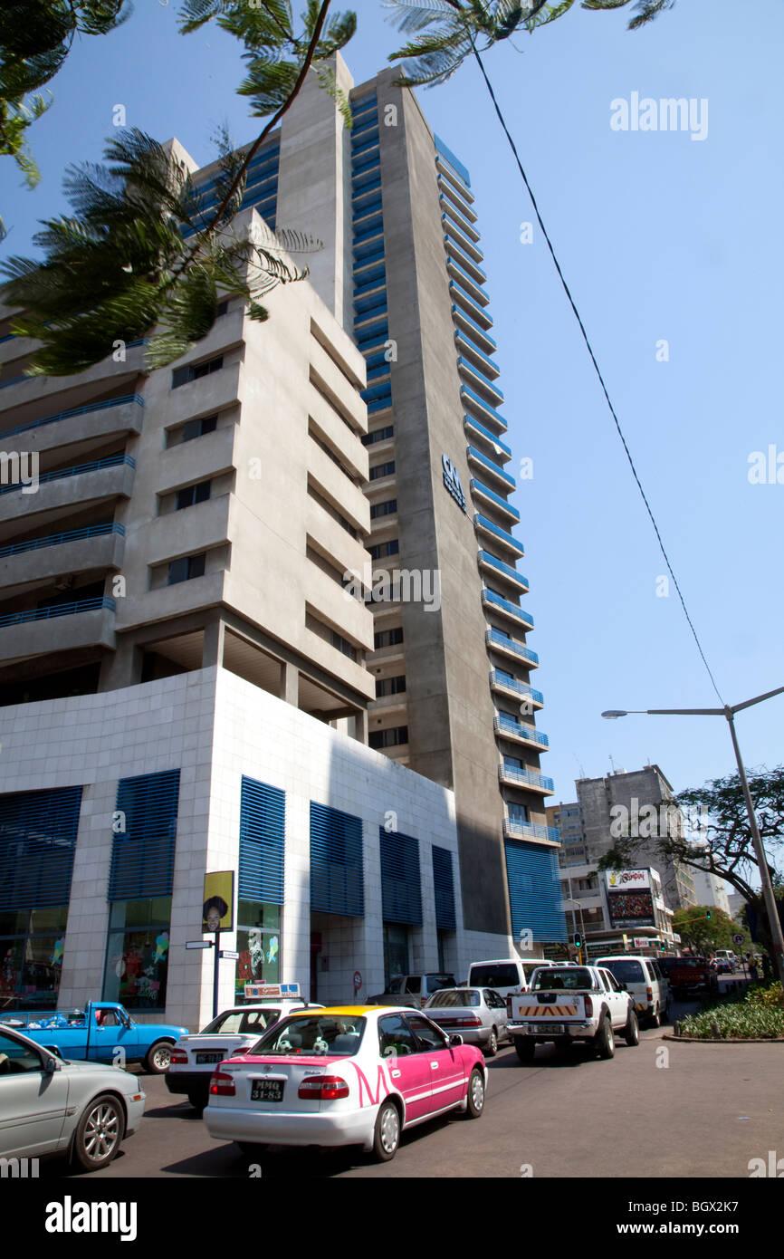 Polana Shopping center in Maputo, Mozambique - Stock Image