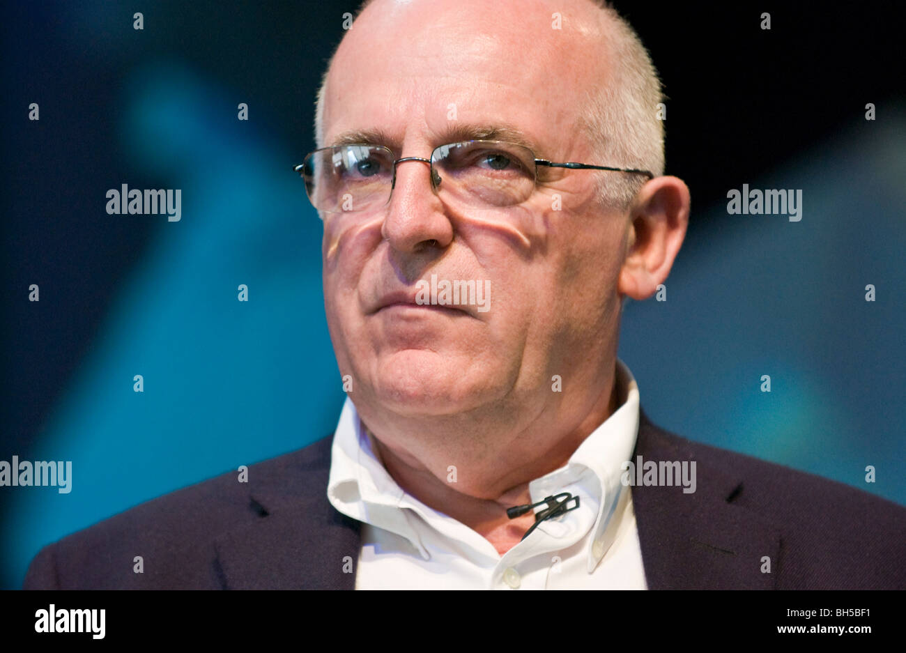 Sir Richard Dearlove former Chief of the British Secret Intelligence Service MI6 pictured at Hay Festival 2009. Stock Photo