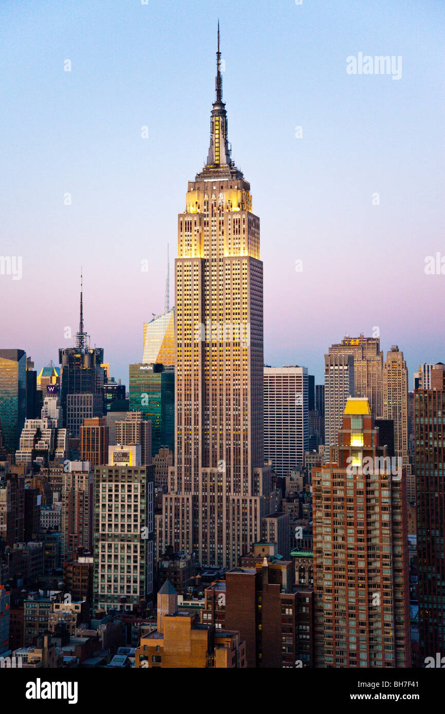 Empire State Building, New York City - Stock Image