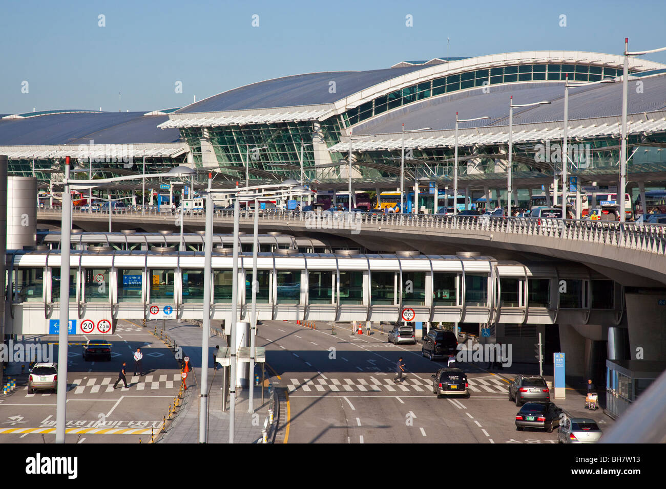 Incheon International Airport in Seoul South Korea Stock Photo