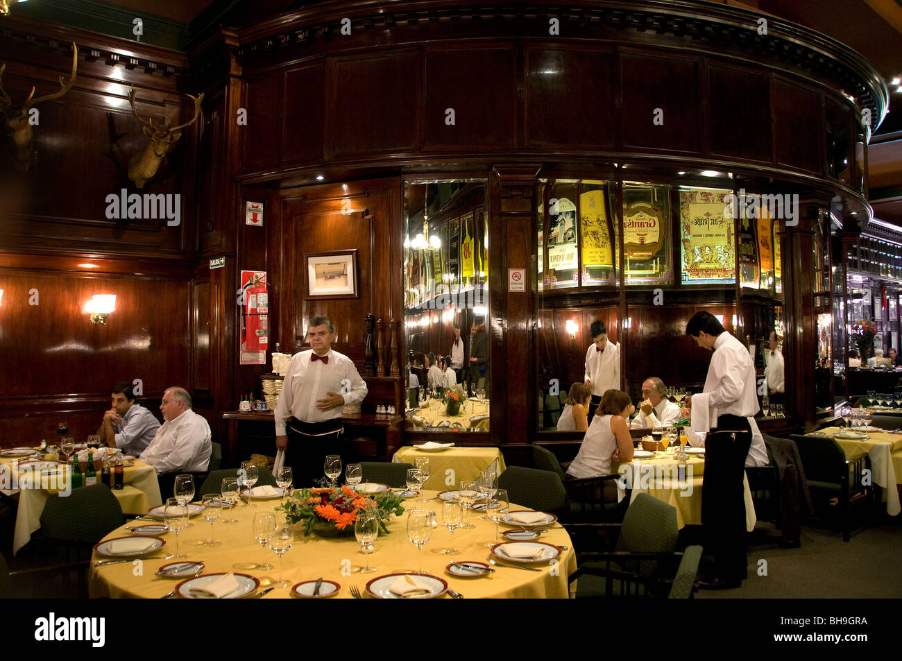 The Brighton Restaurant Buenos Aires Bar Cafe Pub  Argentina Town City - Stock Image