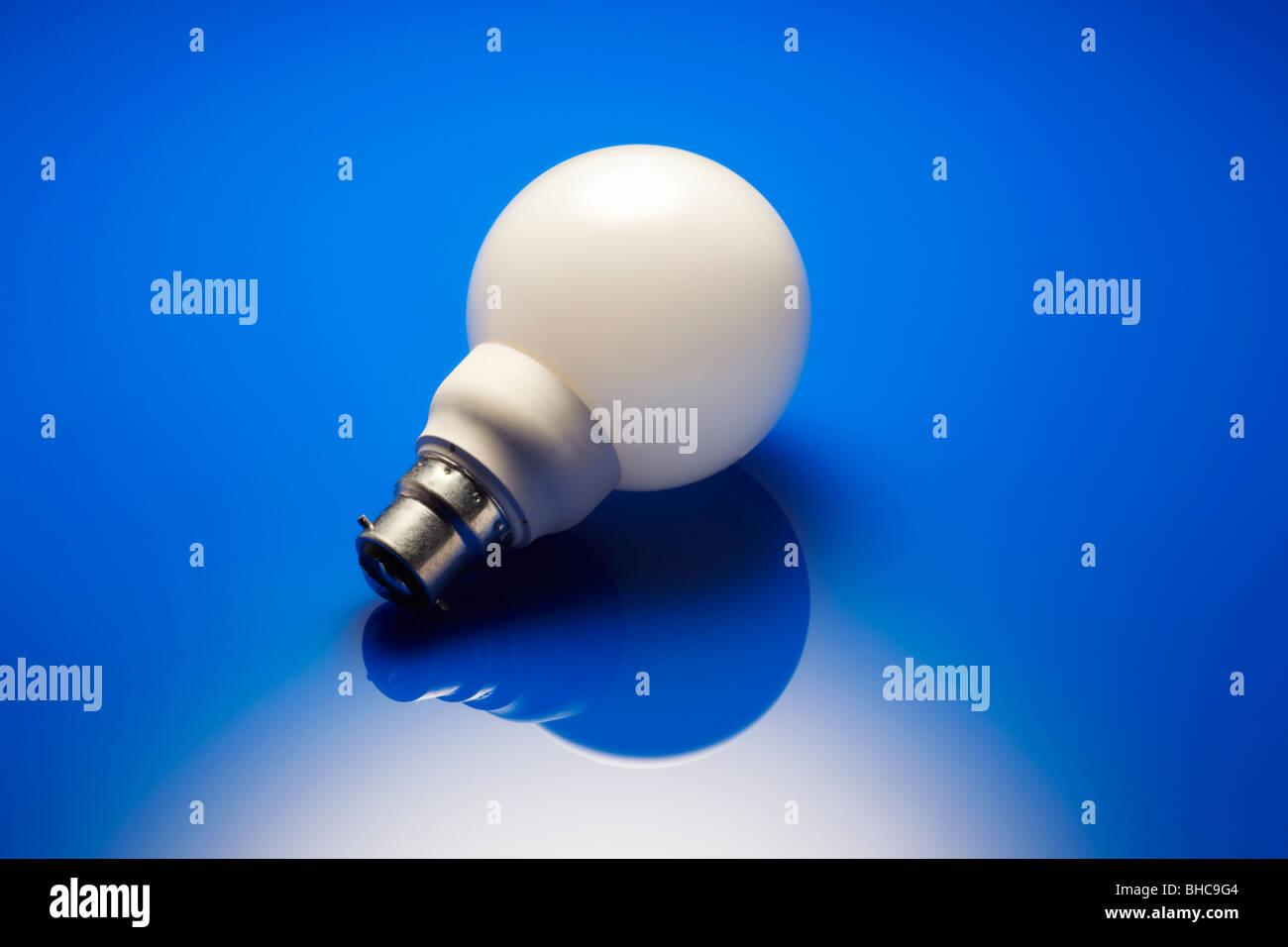 Energy Saving Bulb - Stock Image