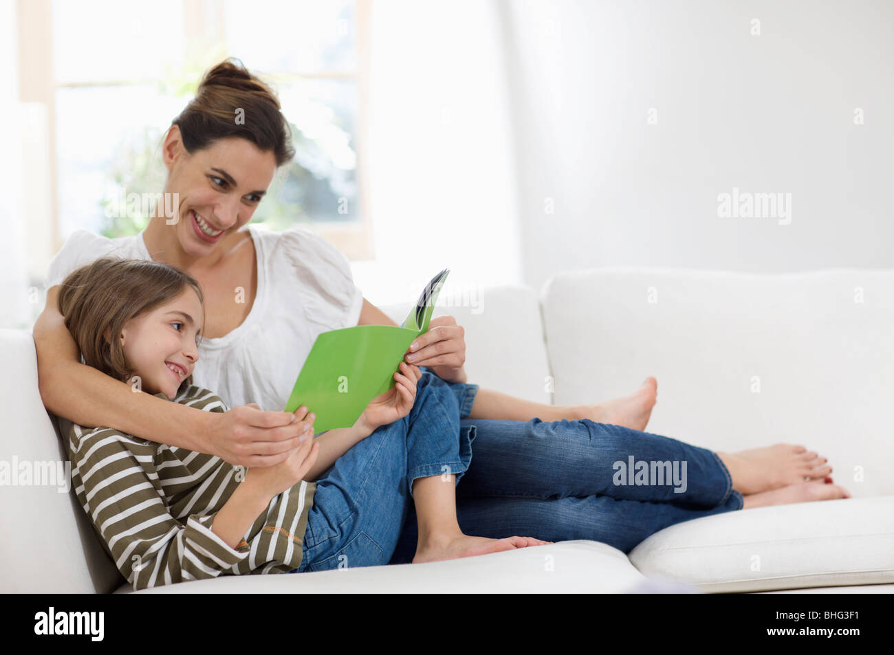 young girls on their leisure day - Stock Image