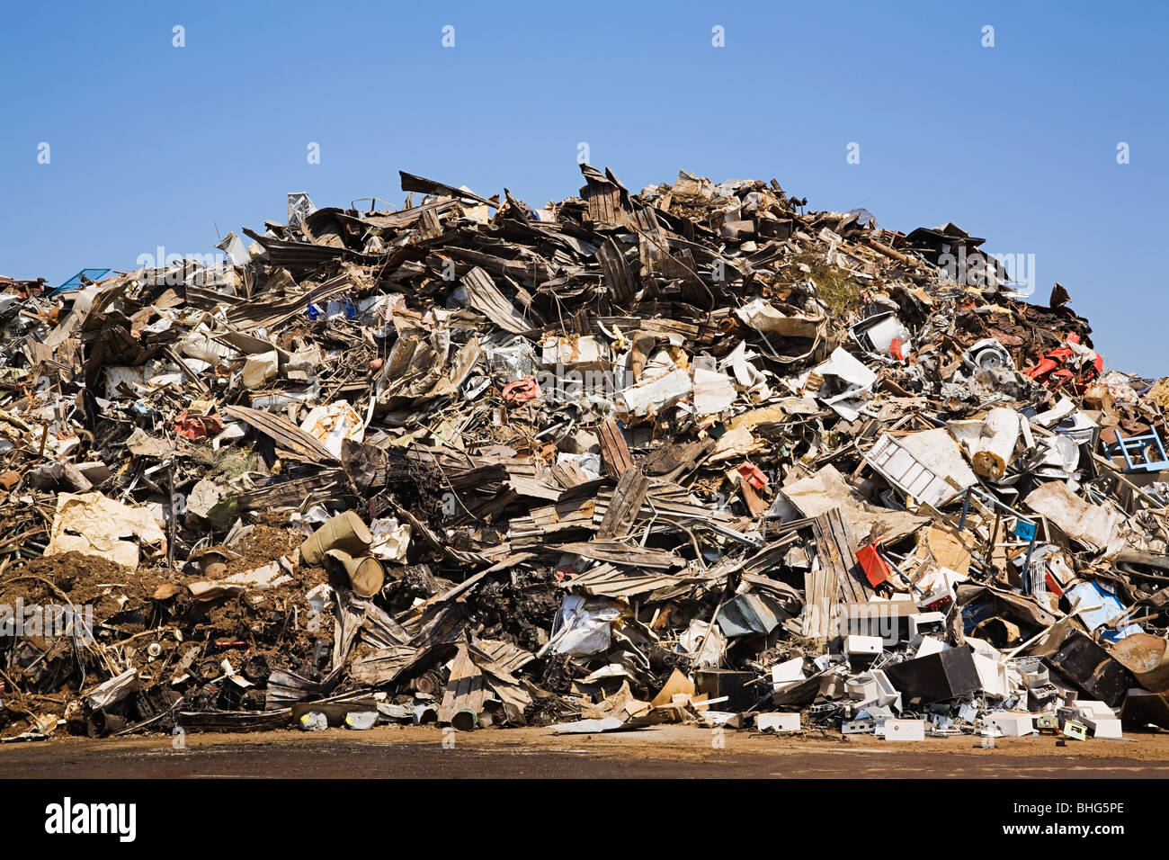 Waste pile - Stock Image