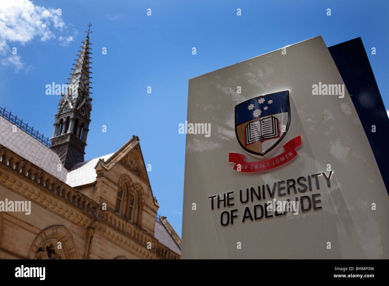 The University of Adelaide is a venerated institute from where many of Australia's finest have emerged. Stock Photo