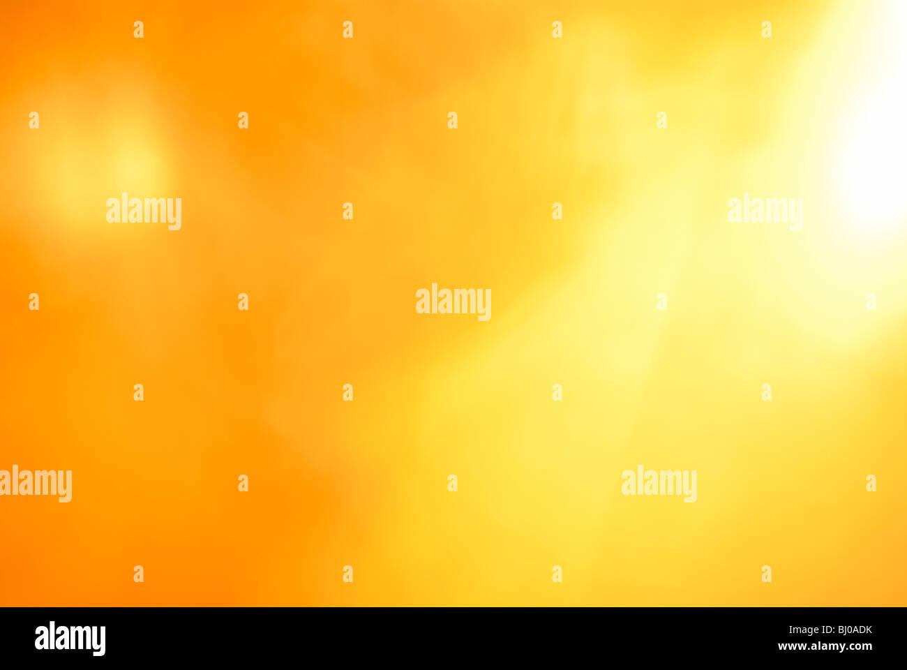 ORANGE AND YELLOW BACKGROUND - Stock Image