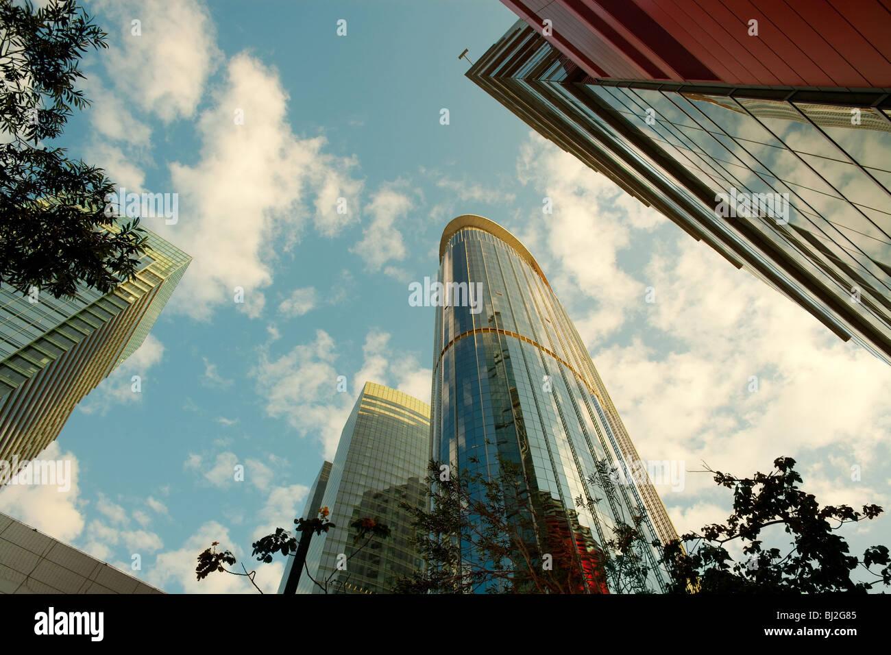 Office buildings at Kowloon Bay district, Kowloon, Hong Kong, China - Stock Image