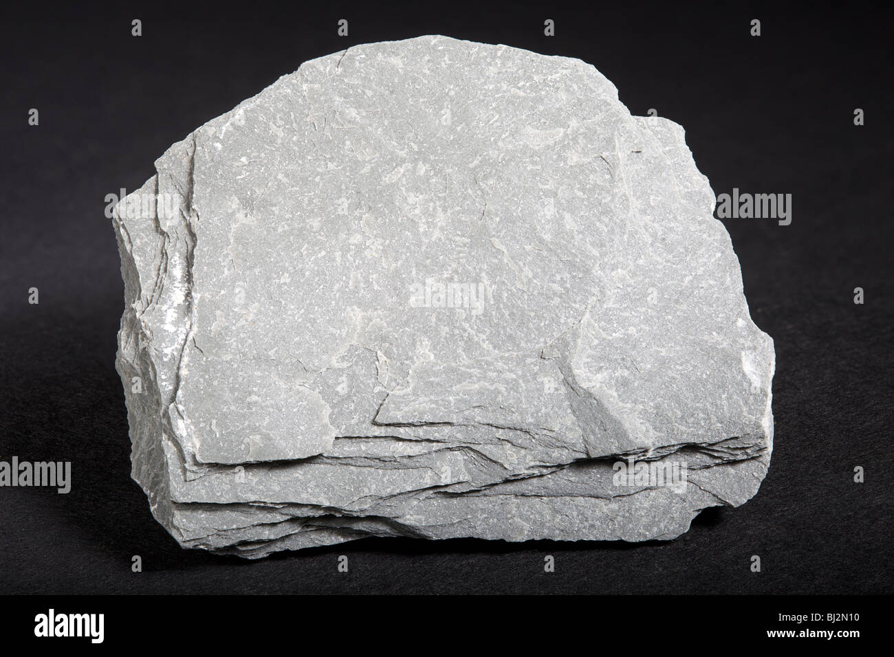 Slate (Metamorphic Rock) - Stock Image