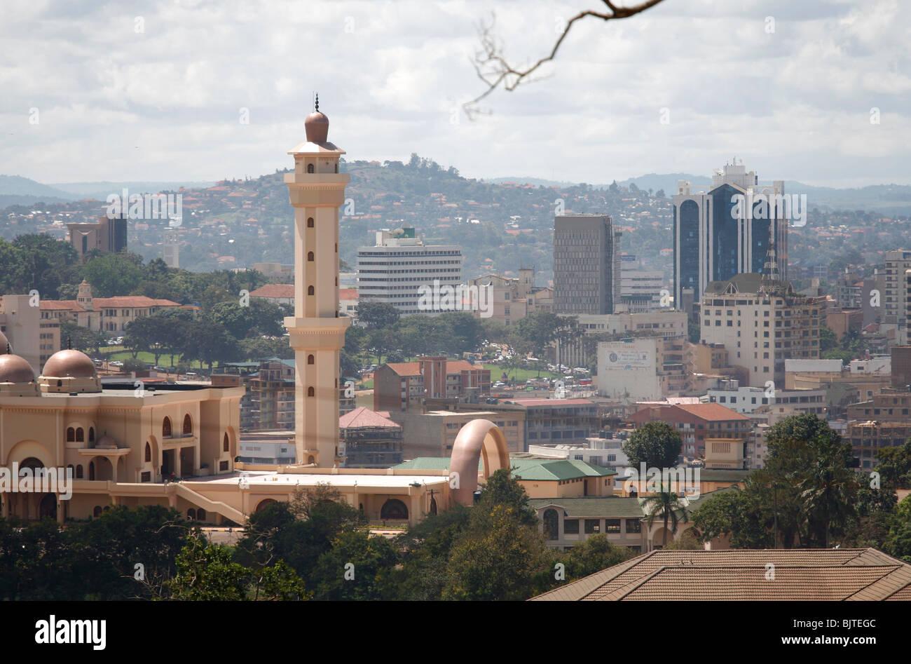 Colonel Gaddafi mosque kampala - Stock Image