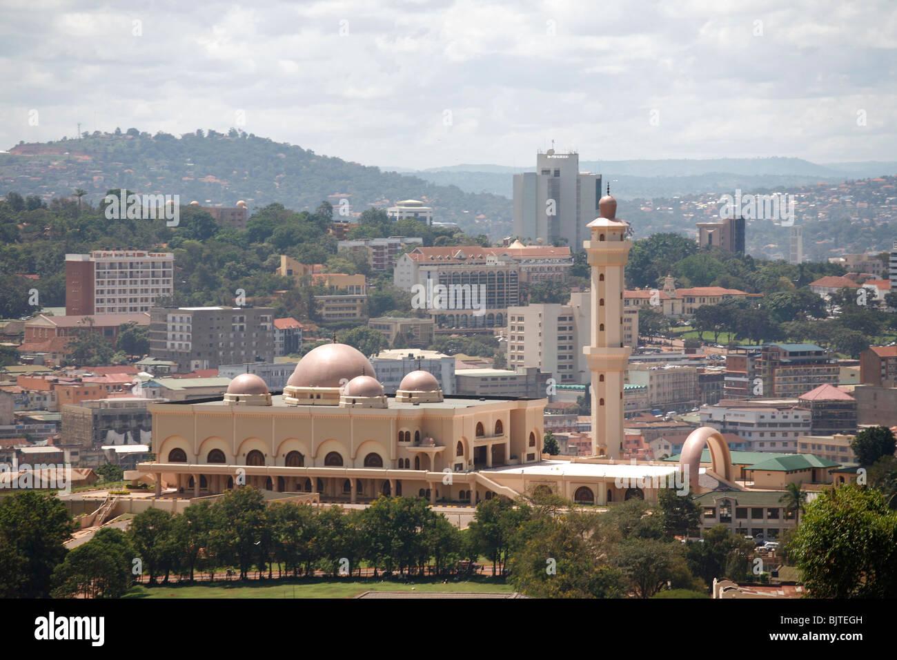 Colonel Gaddafi mosque in Kampala. Uganda - Stock Image