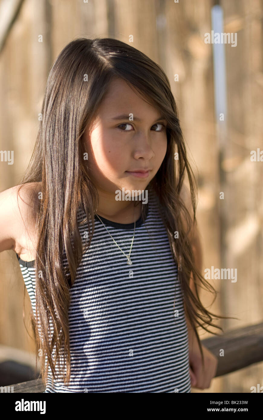 a cute 7-9 year old mixed race (asian/caucasian) girl (released