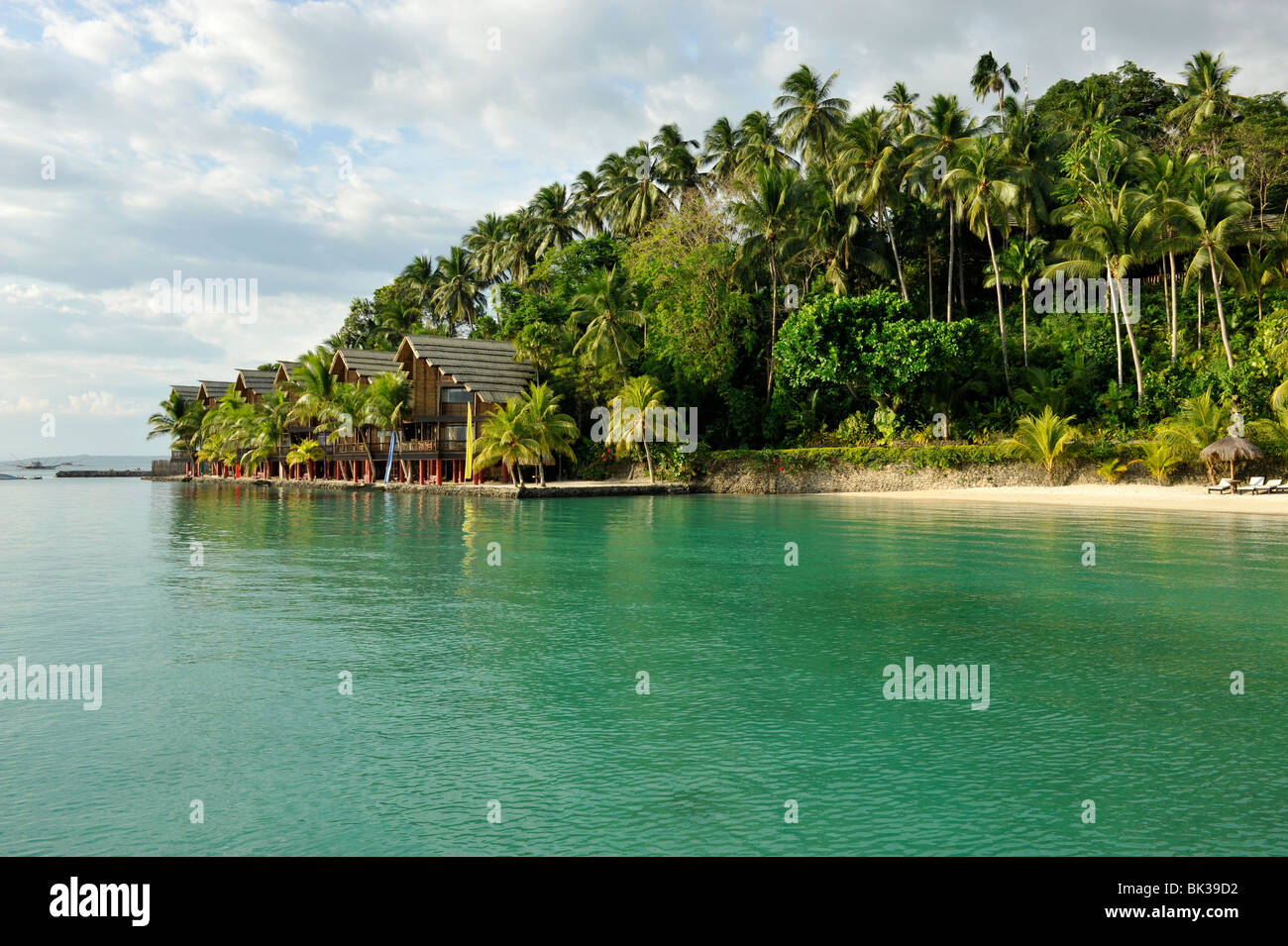 Pearl Farm Resort on Samar Island in Davao, Mindanao, Philippines, Southeast Asia, Asia - Stock Image