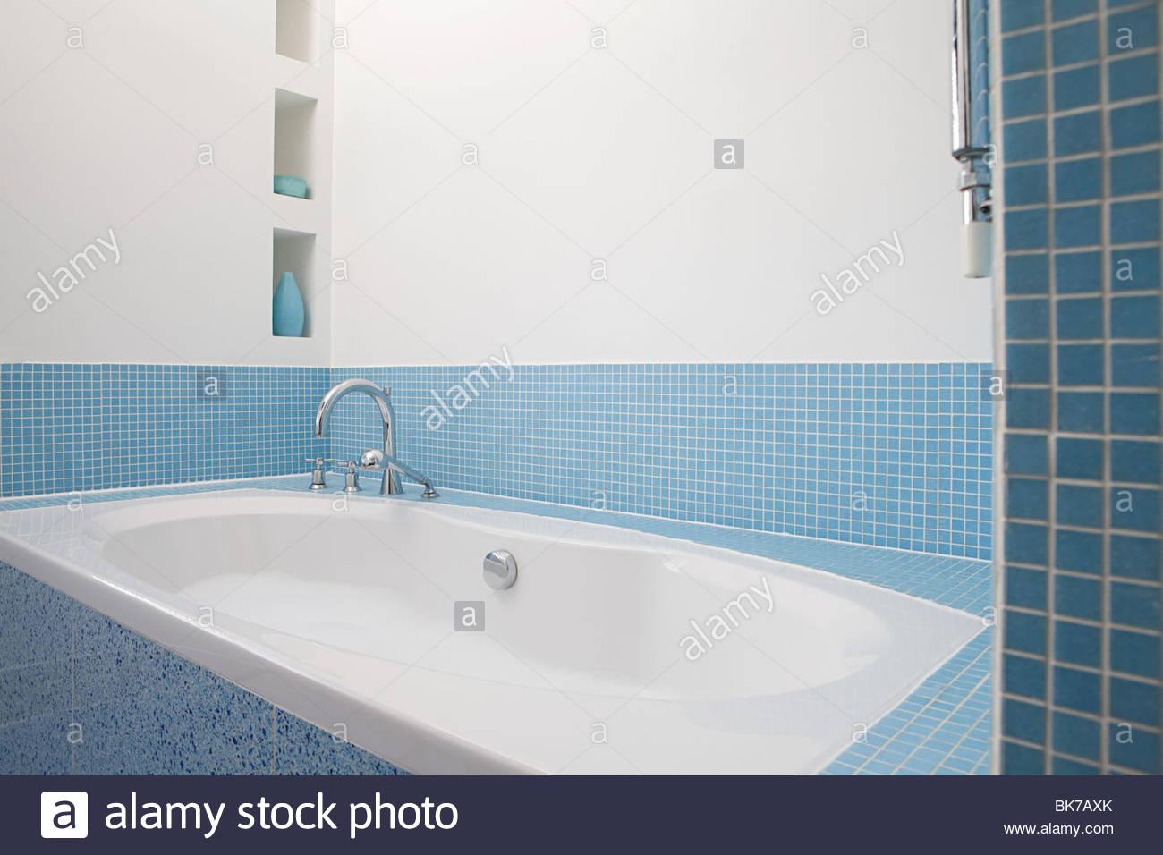 Cyan Bathroom