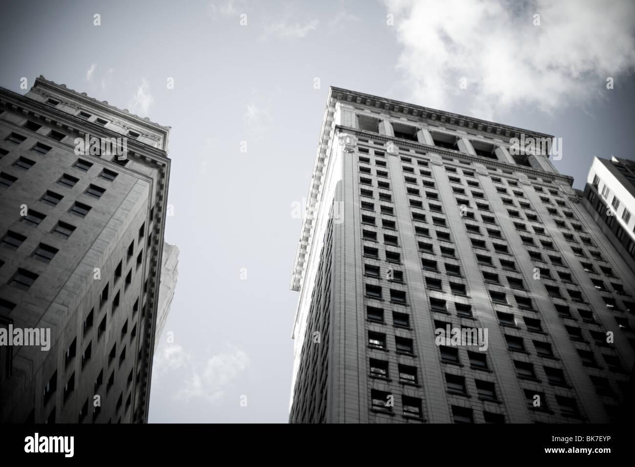 New york buildings - Stock Image