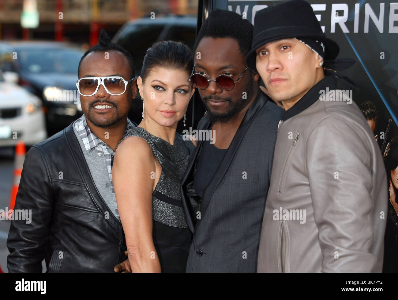 BLACK EYED PEAS X-MEN ORIGINS: WOLVERINE INDUSTRY SCREENING HOLLYWOOD LOS ANGELES CA USA 28 April 2009 Stock Photo
