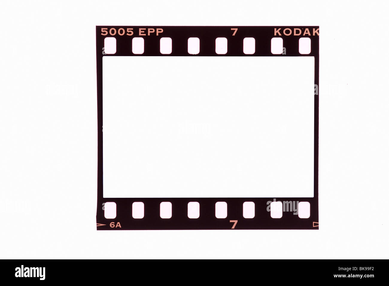 35mm film strip frame cut out Stock Photo: 29093878 - Alamy