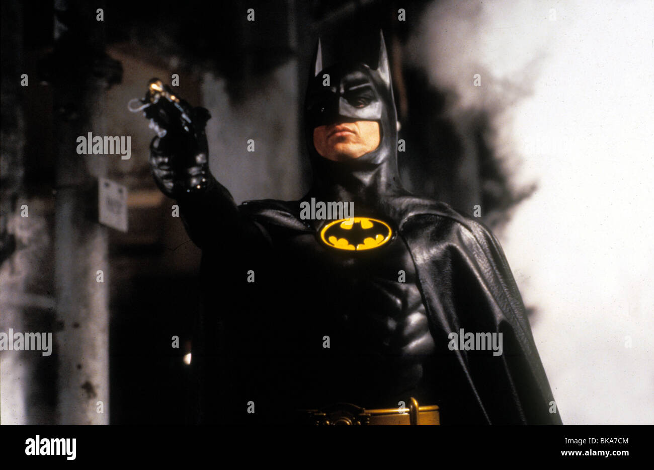 BATMAN -1989 MICHAEL KEATON Stock Photo
