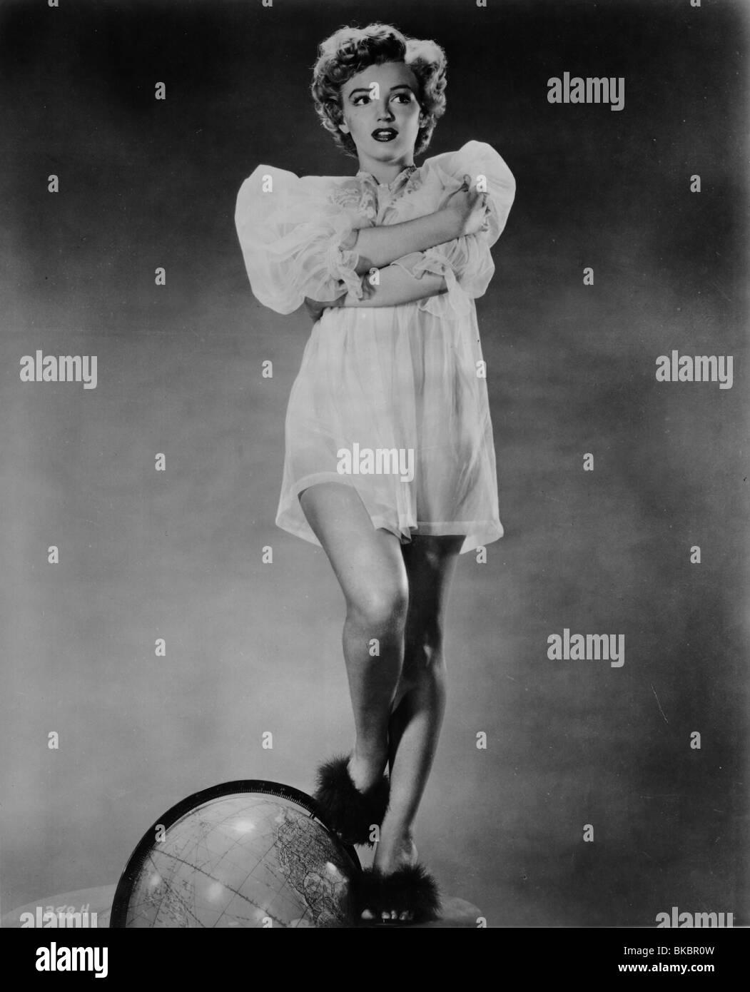 MARILYN MONROE PORTRAIT - Stock Image
