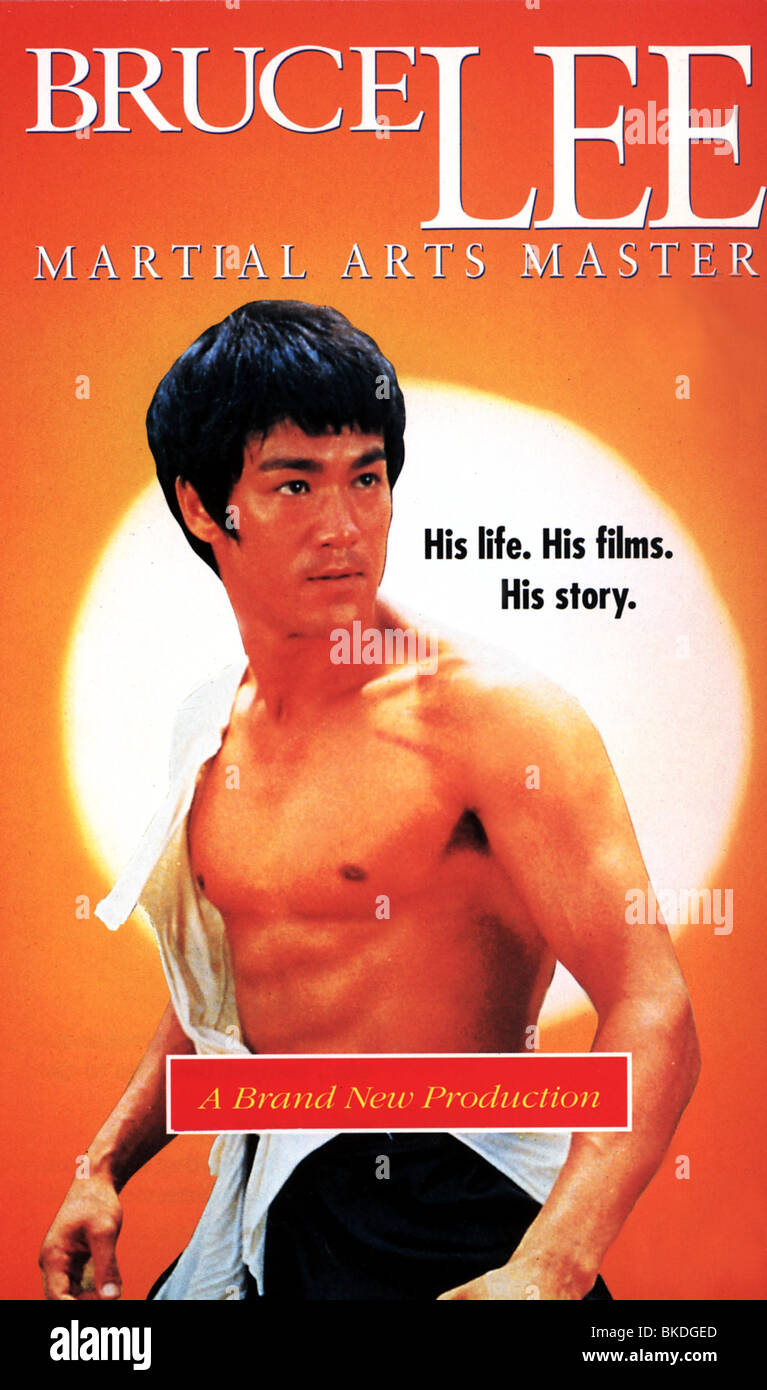 BRUCE LEE: MARTIAL ARTS MASTER (DOCUMENTARY) POSTER BCLE 003VS - Stock Image