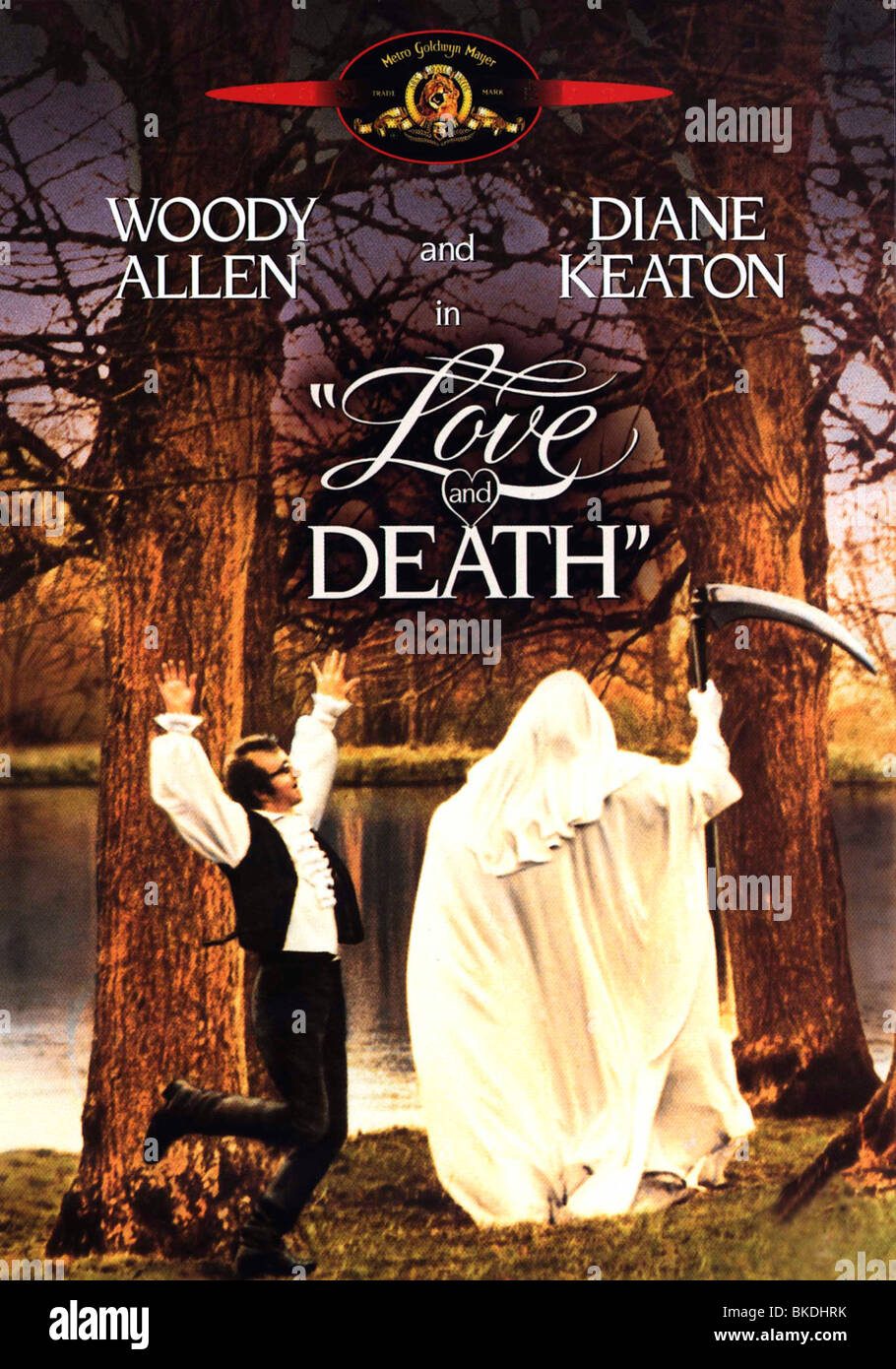 LOVE AND DEATH (1975) WOODY ALLEN (DIR) LADT 001 VS Stock Photo