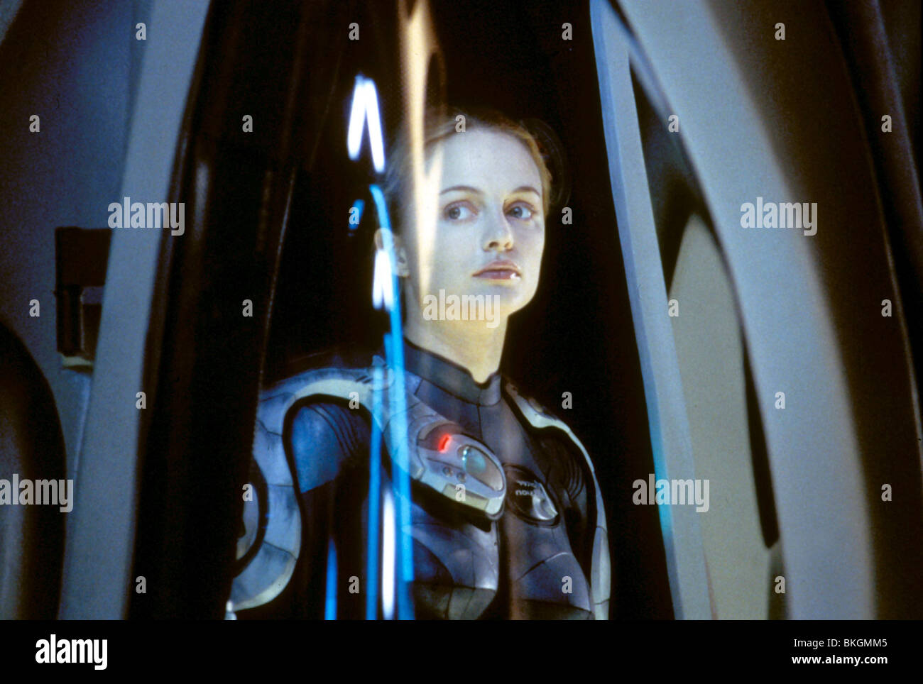 lost in space 1998 heather graham losp 017 stock photo