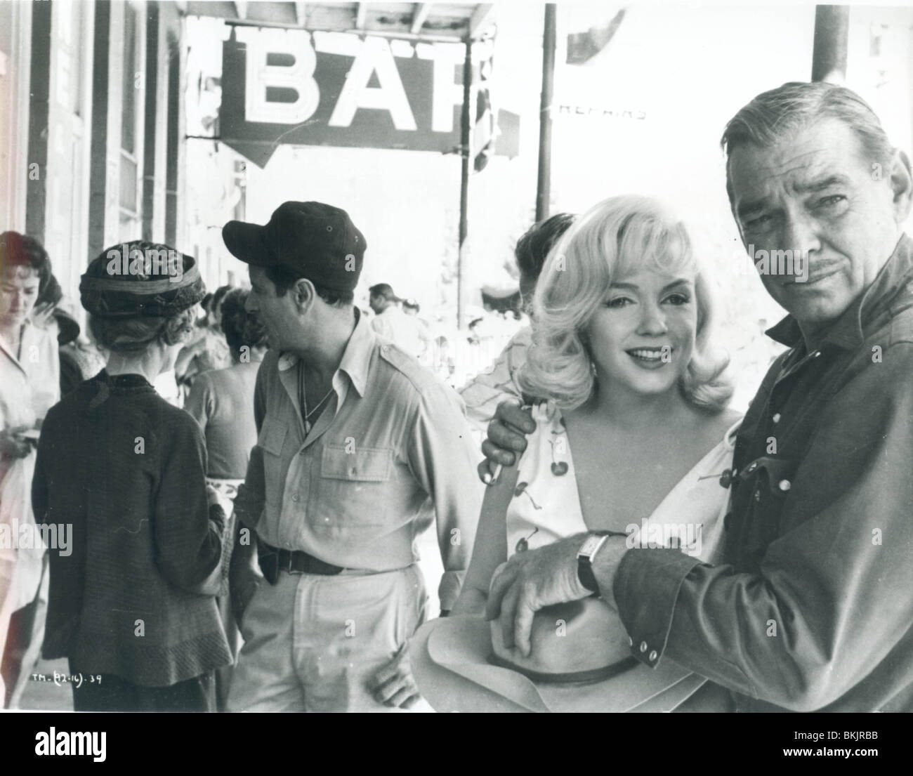 THE MISFITS (1961) MARILYN MONROE, CLARK GABLE MSFT 001P - Stock Image