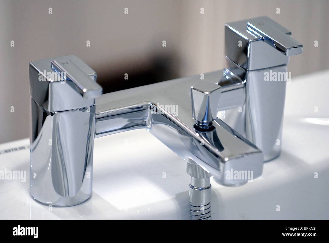 Modern Bathroom mixer tap Stock Photo: 29318538 - Alamy