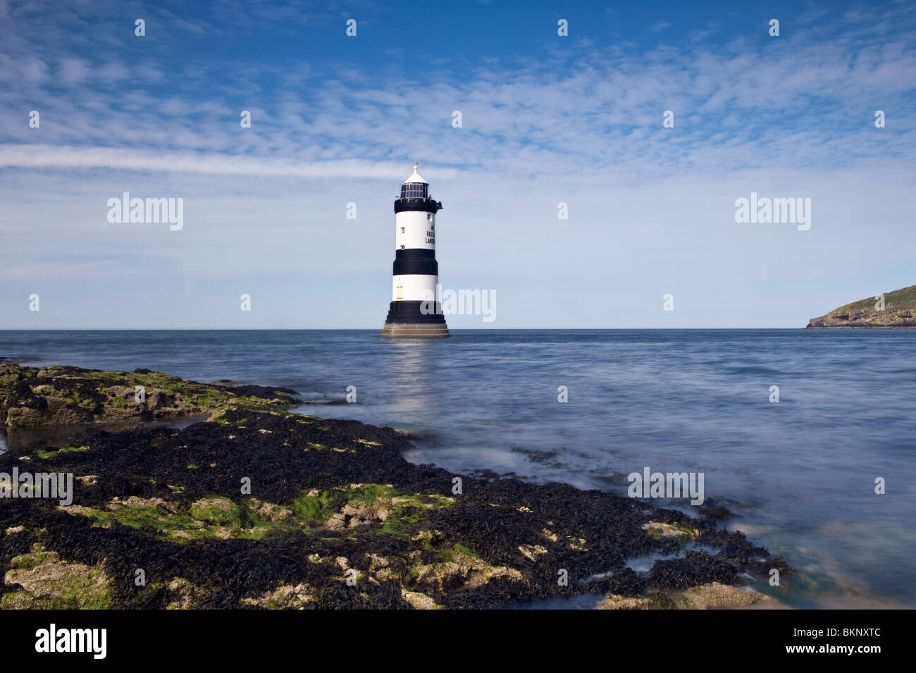 Penmon Point Lighthouse, Anglesey - Stock Image
