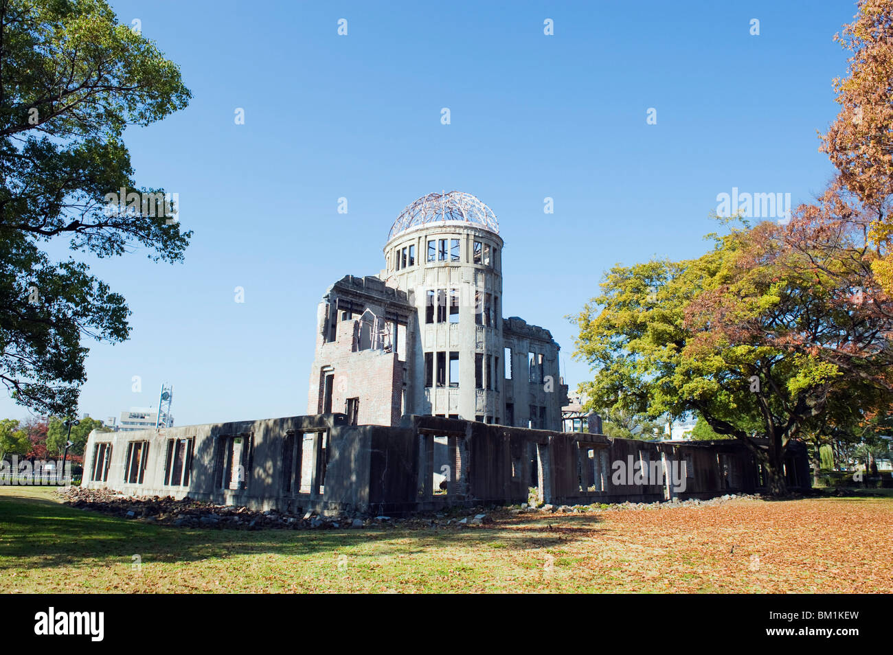 Atomic Bomb Dome, Hiroshima, UNESCO World Heritage Site, Hiroshima prefecture, Japan, Asia - Stock Image