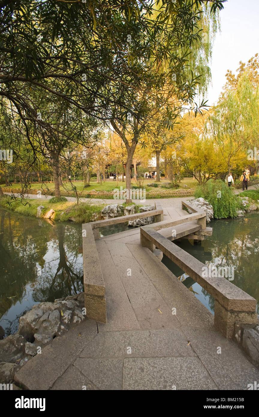 The Humble Administrator's Garden, Suzhou, Jiangsu, China - Stock Image