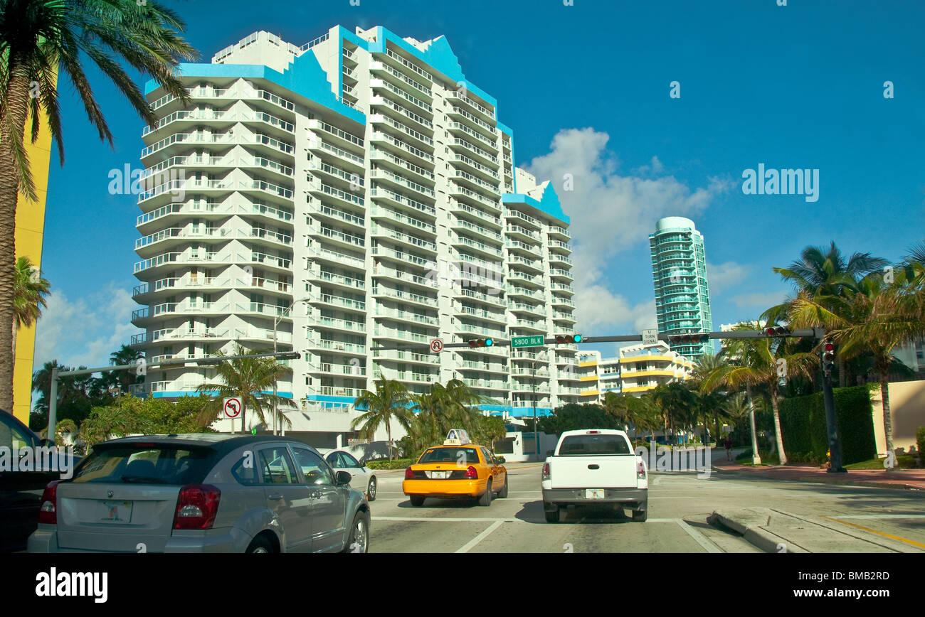 Miami Beach Florida Taxi Cab Stock Photos & Miami Beach Florida Taxi ...