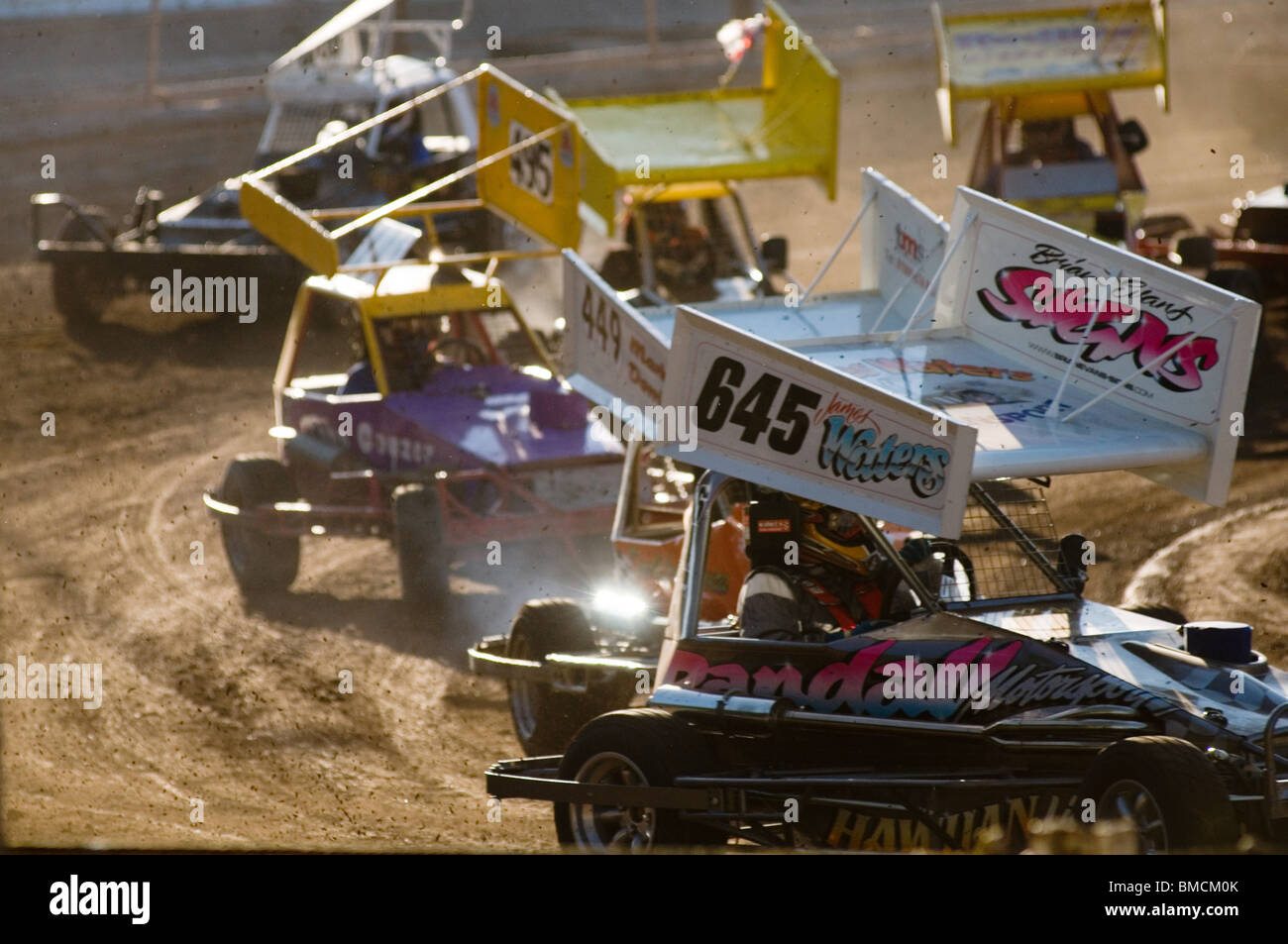 stock cars car racing on shale short oval track formula two f2 2 ...