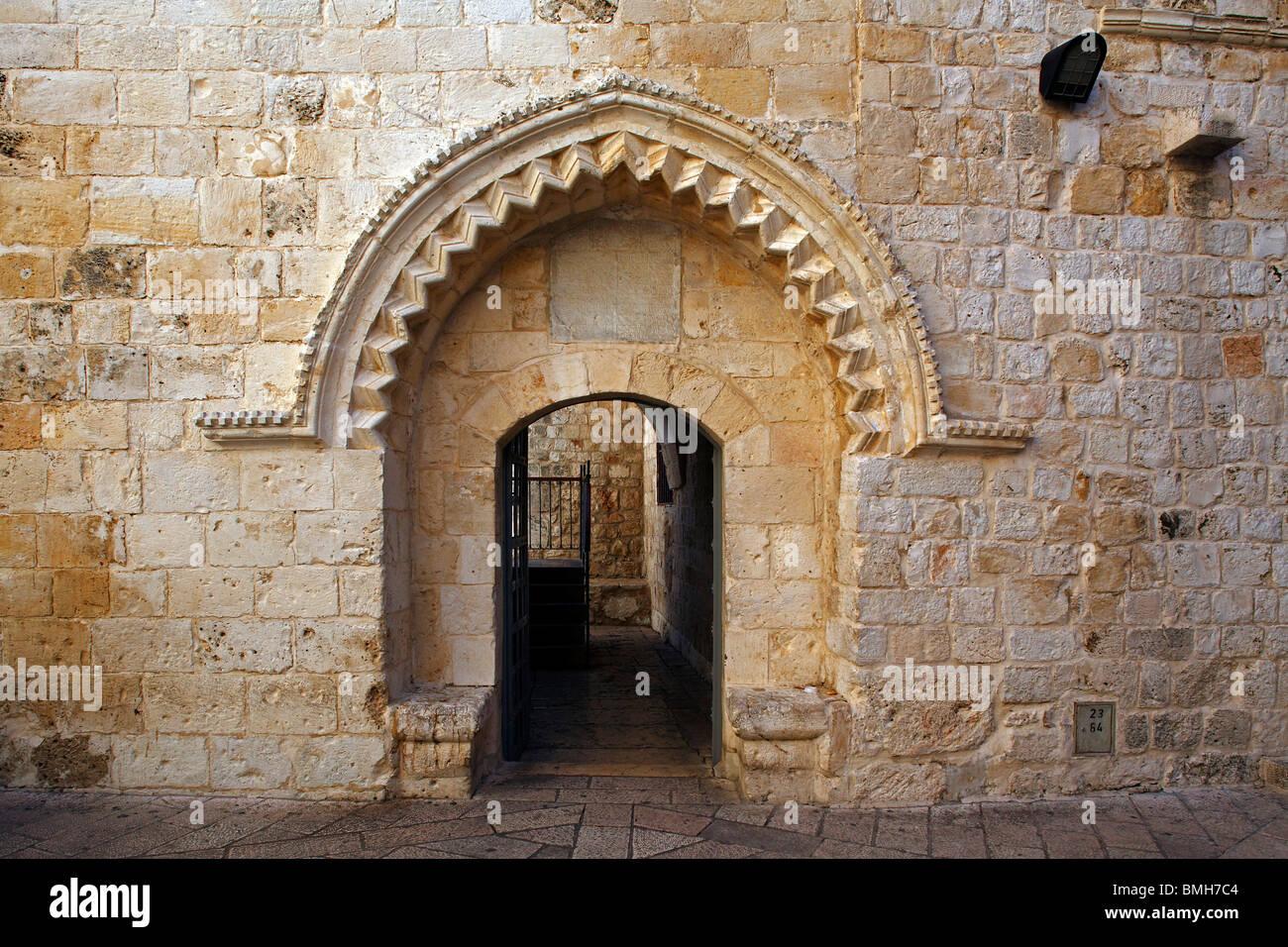 Israel,Jerusalem,King David's Tomb,Mt. Zion - Stock Image