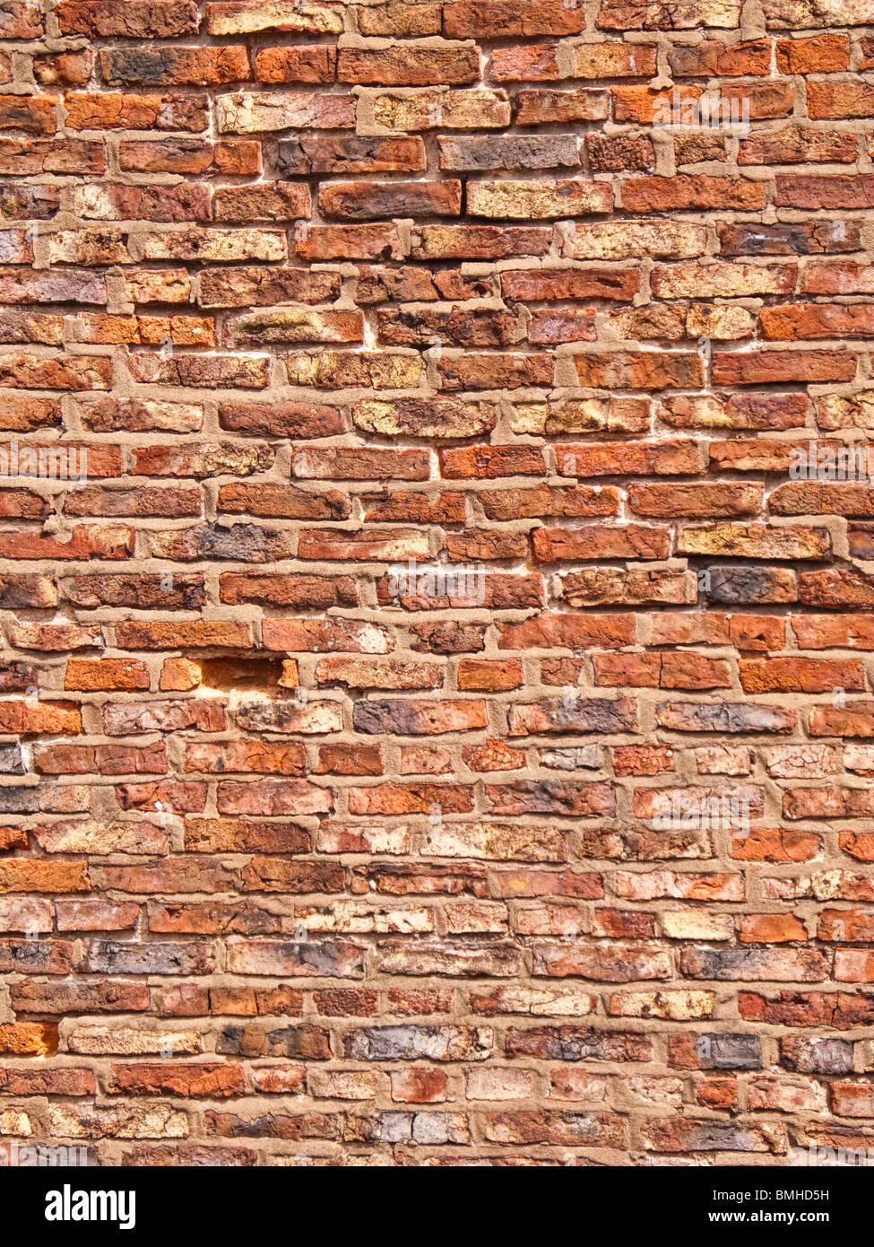 Brick wall - texture - Stock Image