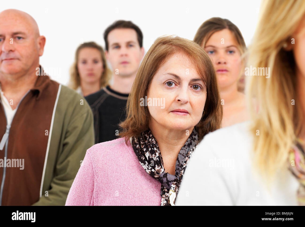 group of people - Stock Image
