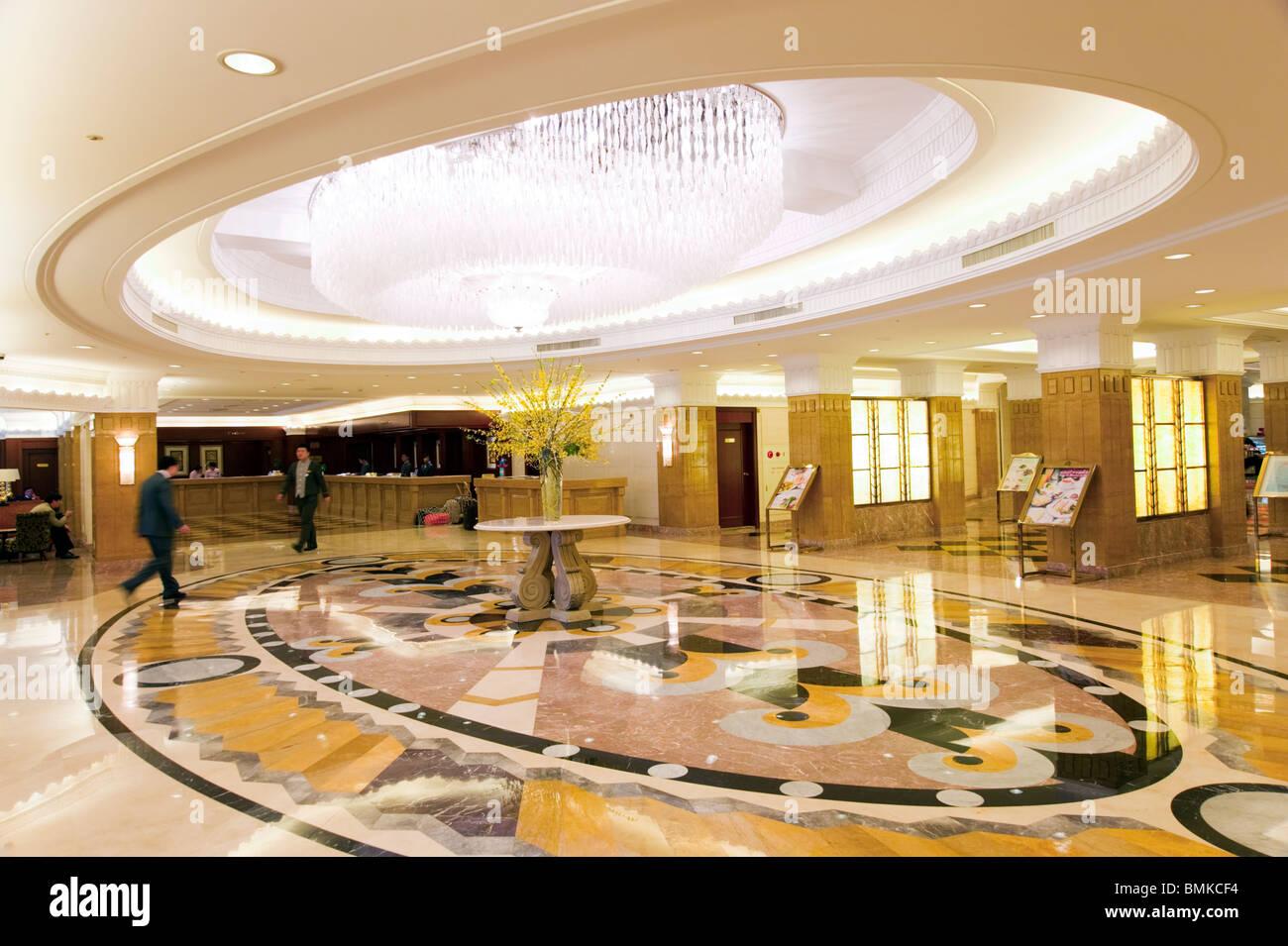 Lobby Of The Okura Garden Hotel, Shanghai, China Amazing Ideas