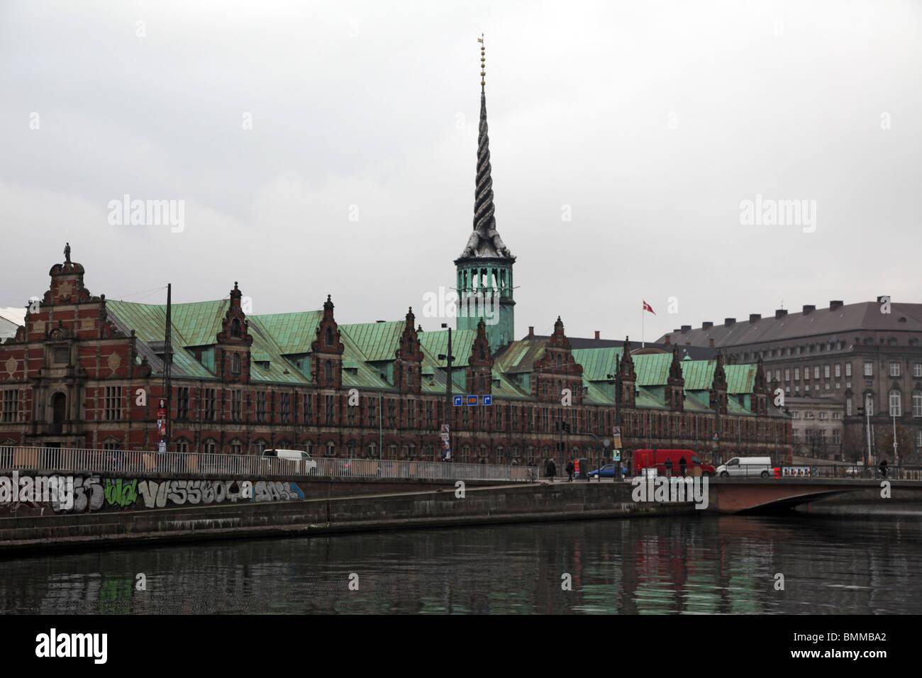 Borsen / Copenhagen Stock Exchange - Stock Image