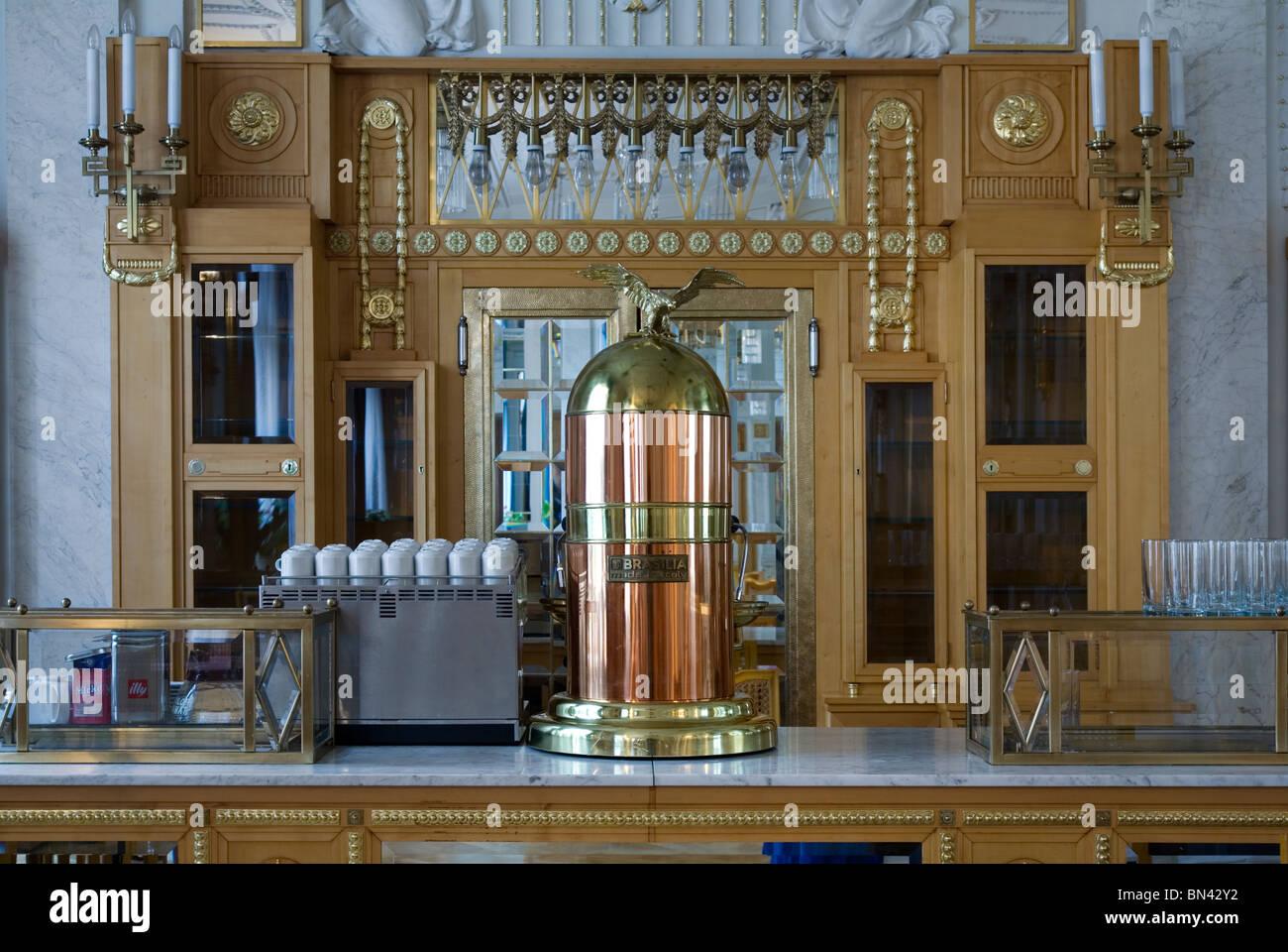 Antique Coffee Percolator Stock Photos & Antique Coffee