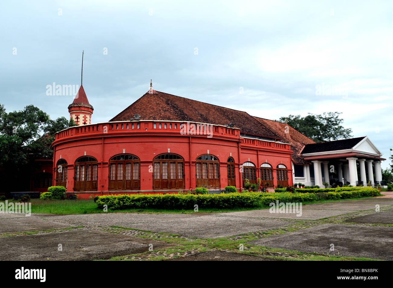 Kanakakunnu Palace, Thiruvananthapuram Stock Photo