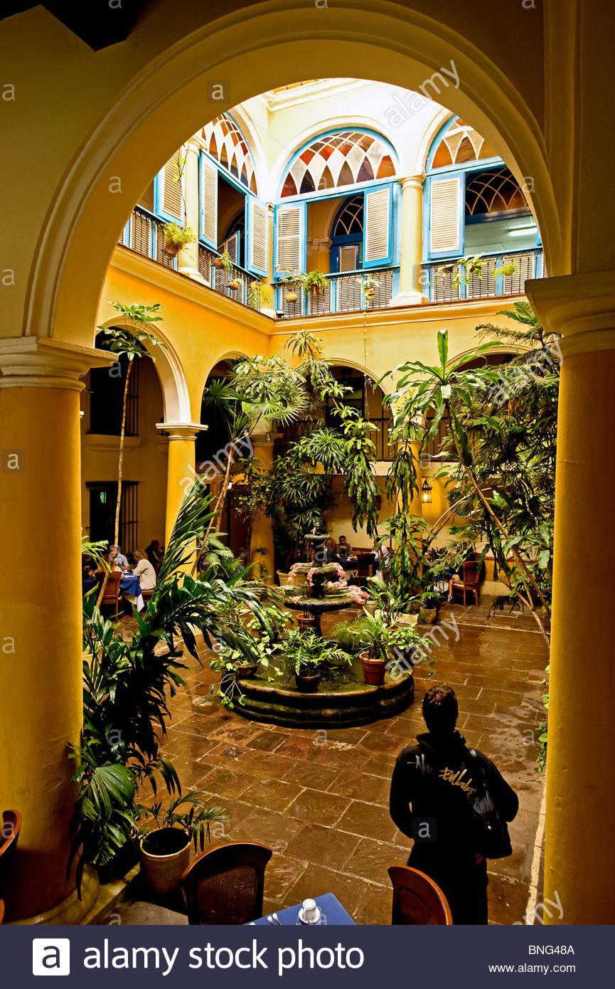 Restaurant El Patio. Havana,Cuba Stock Photo: 30472746 - Alamy