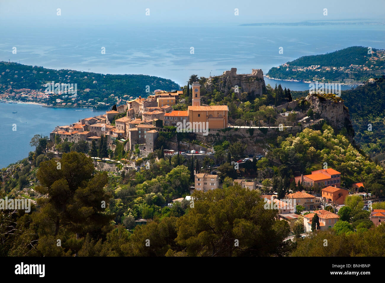 Europe, France, Alpes-Maritimes (06), Eze - Stock Image