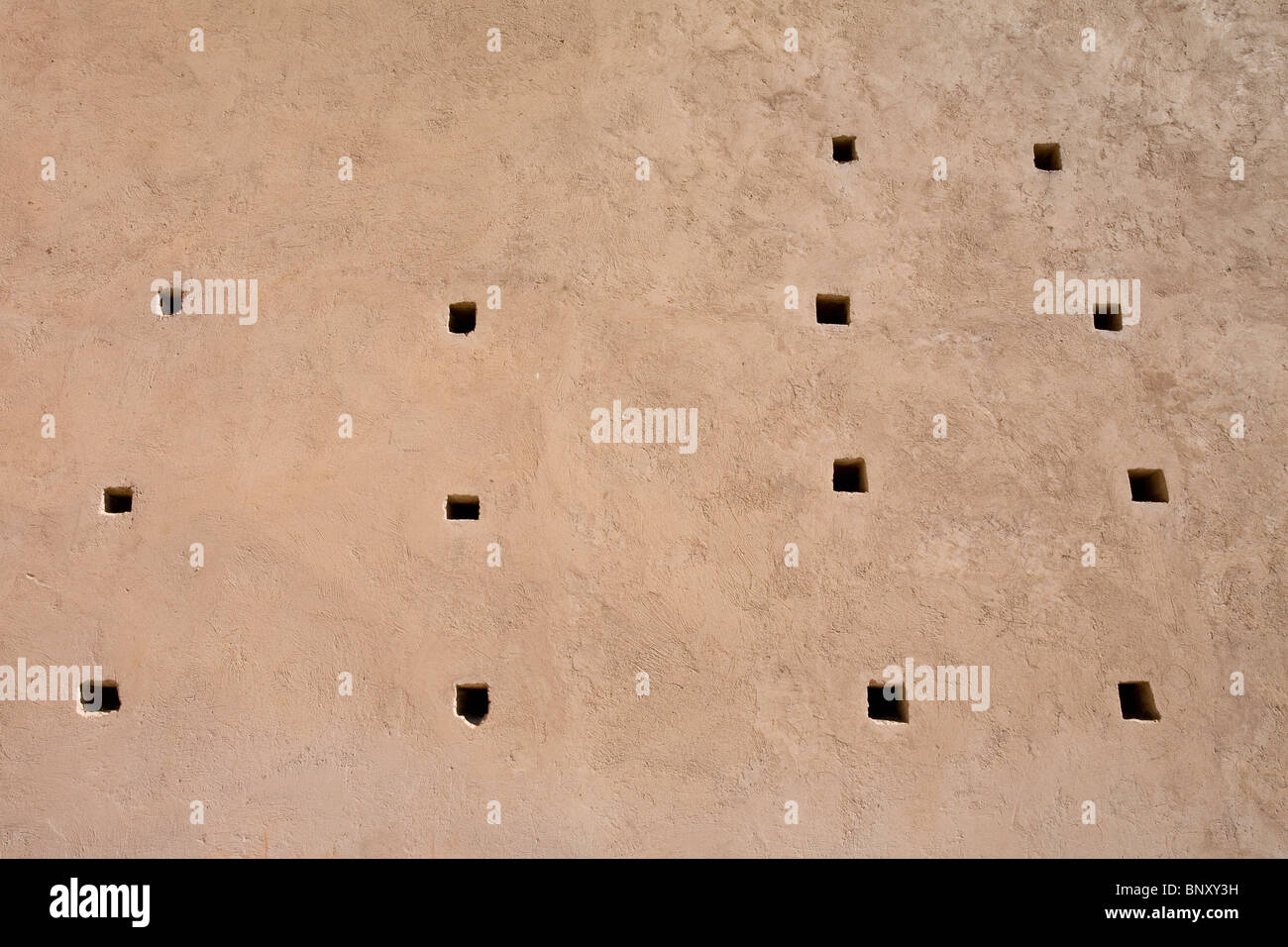 Tin Mal mosque, Morocco, detail of outer wall - Stock Image