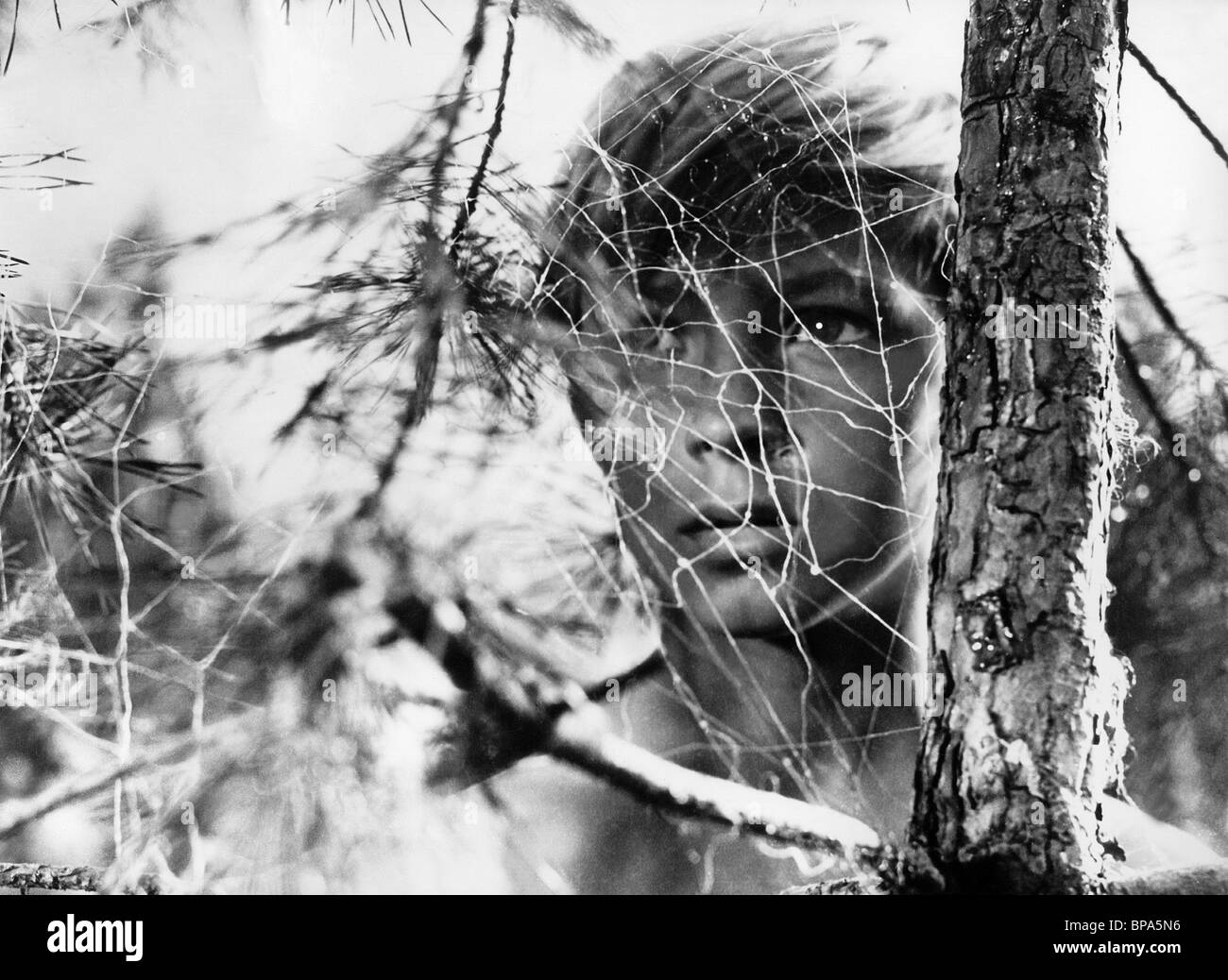 NIKOLAI BURLYAYEV MY NAME IS IVAN; CHILDHOOD OF IVAN; IVAN'S CHILDHOOD; THE YOUNGEST SPY; IVANOVO DETSTVO (1962) Stock Photo