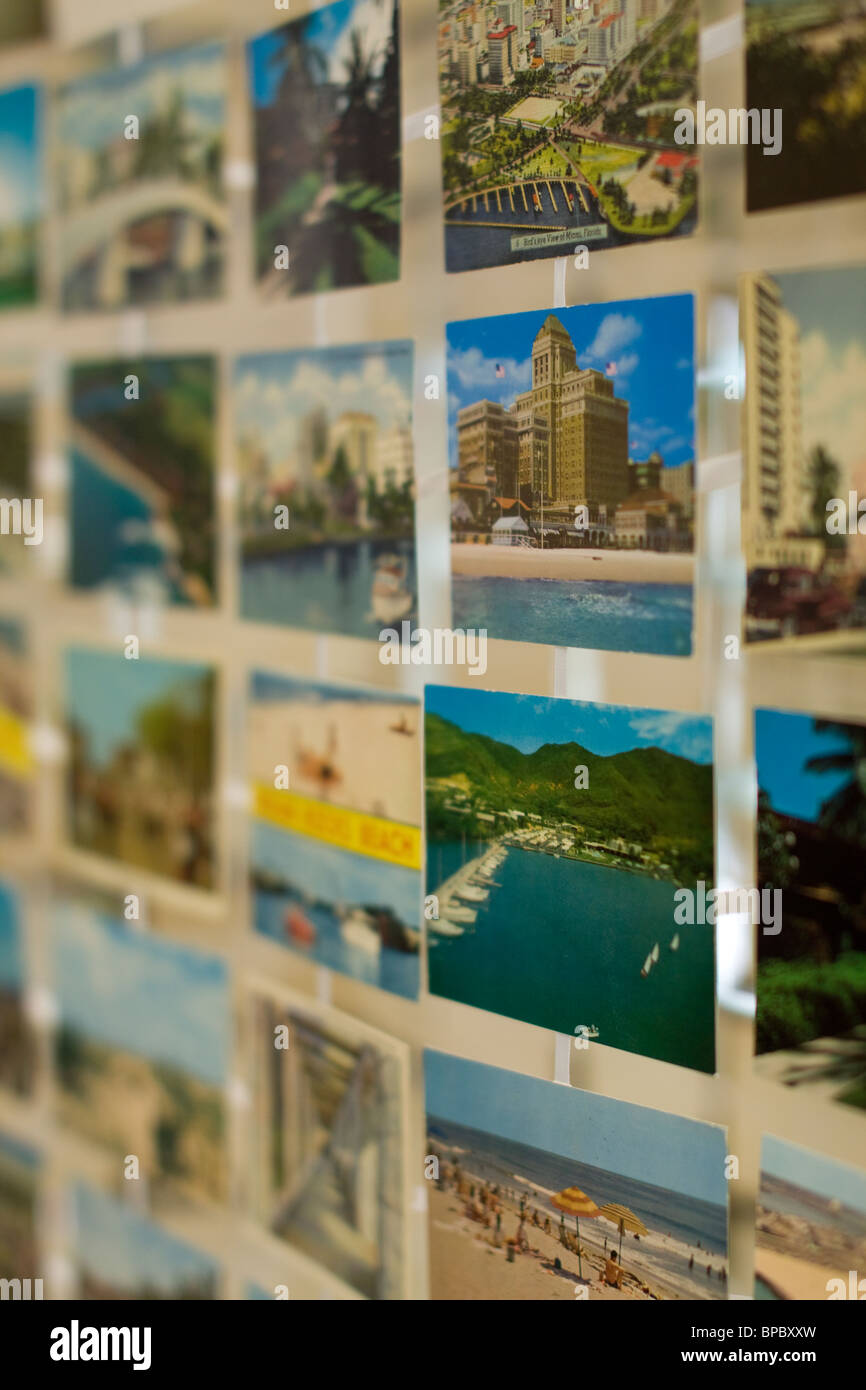 Postcards from the US - Stock Image