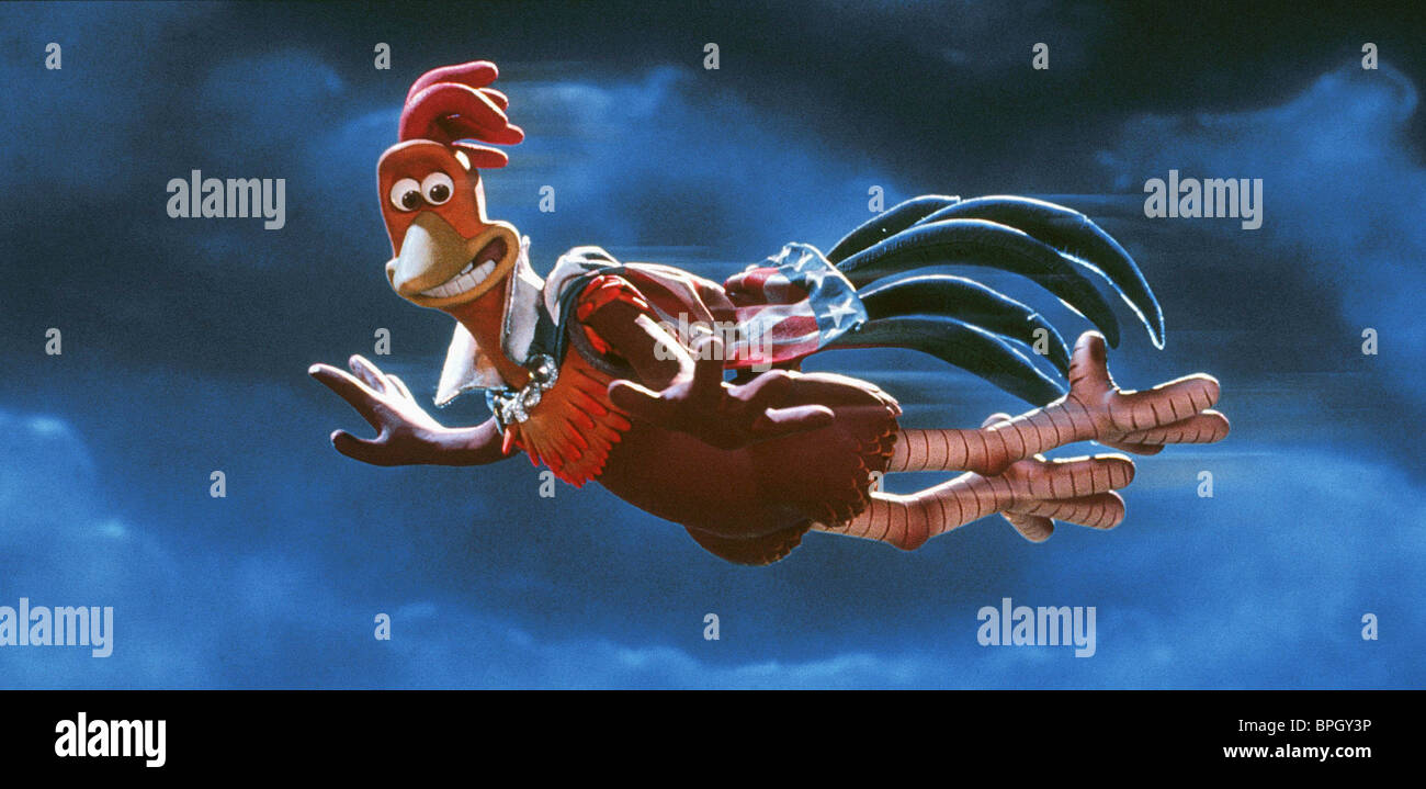 ROCKY CHICKEN RUN (2000) - Stock Image