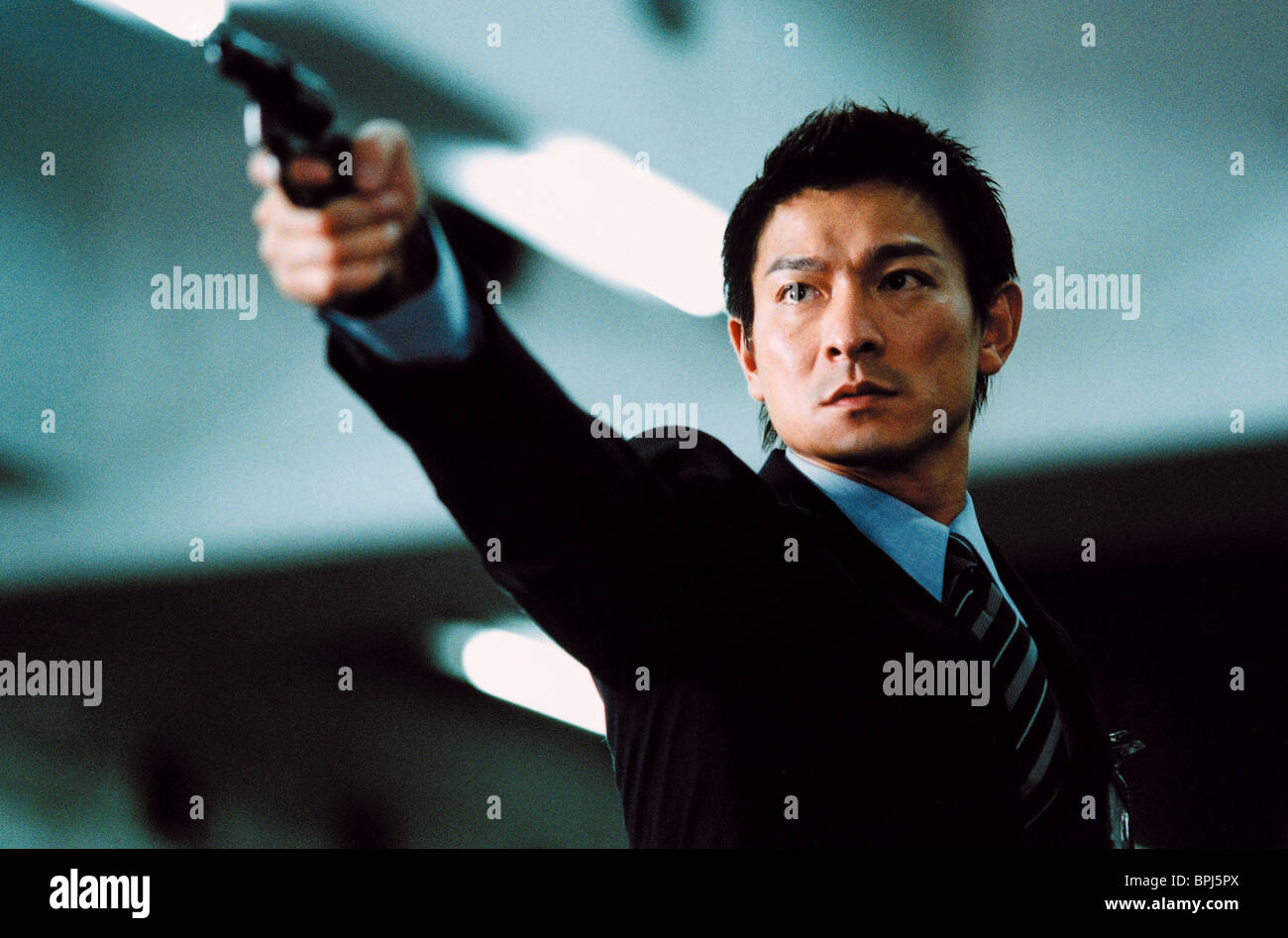 ANDY LAU INFERNAL AFFAIRS; I WANT TO BE YOU (2002) - Stock Image